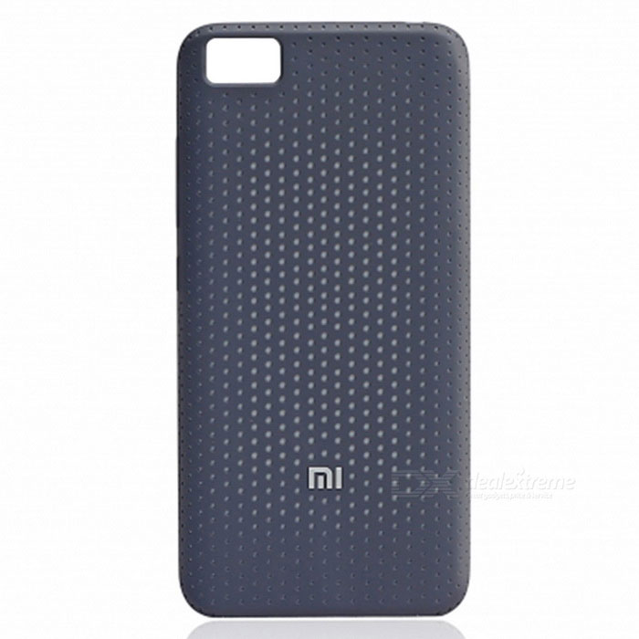 Original PC + LSR Craft Back Cover Case for Xiaomi Mi5 - Black Gray
