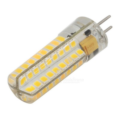 GY6.35 SMD 2835 Warm White Dimmable 72-LED Bi-pin Light Bulb