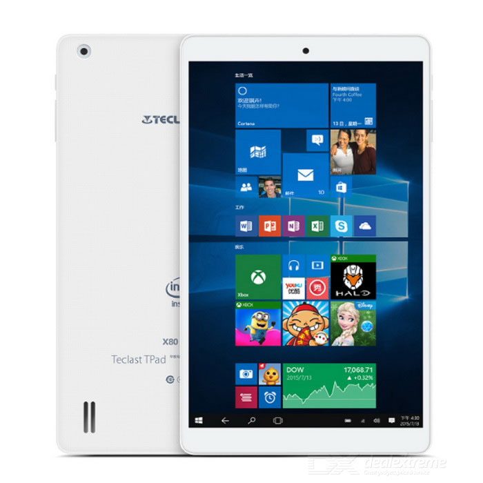 "Teclast X80 Pro 8"" WIFI 2G 32GB Win10 Android Dual System Tablet"