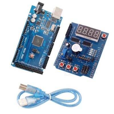 UNO R3 ATMEGA328P Board + Learning Expansion Board Kit for Arduino