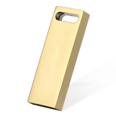 Maikou 32GB USB 2.0 Flash Drive USB Stick - Bright Gold
