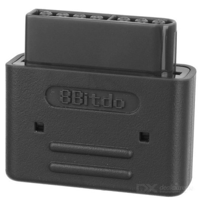 8Bitdo Wireless Bluetooth Retro Receiver for SNES / SFC - Black