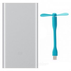 Xiaomi 10000mAh Quick Charge Mobile Power Bank II + MI Mini USB Fan