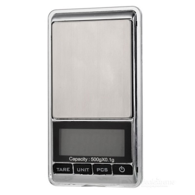"JEDX 1.8"" Electronic 5-Digital LCD Display Jewelry Scale (500g/0.1g)"