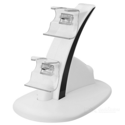 Mini Dual Charging Dock for XBOX ONE S / XBOX ONE Controller - White