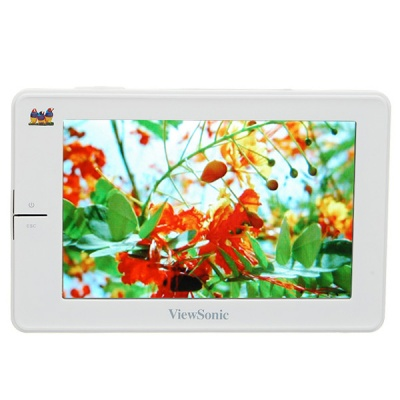 "ViewSonic 4.3"" Touch Screen LCD H.264/RM/MP3/E-Book/FM Portable HD Media Player (800*480/8GB)"