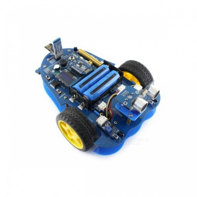 Waveshare AlphaBot, Bluetooth Robot Building Kit for Arduino - Blue