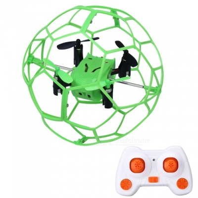 HelicMAX 1340 2.4GHz 4CH RC Quadcopter Fly Ball w/ Controller - Green
