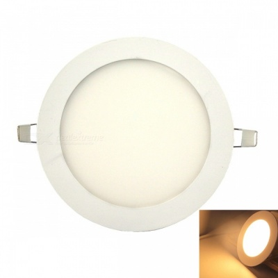Ultra-thin 24W 120-2835SMD LED Warm White Light Ceiling Lamp - White