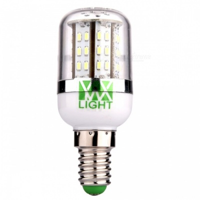 YWXLight E14 4W SMD 3014 48-LED Cold White Corn Bulb Lamp