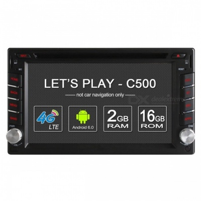 """Ownice C500 Universal 2 Din Android 6.0 Quad Core 6.2"""" Car DVD Player"""