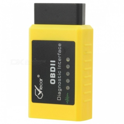 Viecar VC003-A OBDII Diagnostic Interface Car Scanner - Yellow + Black