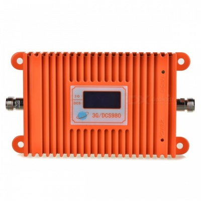 2G 3G/ DCS/ WCDMA 1800/2100MHz LCD Repeater for Mobile Phone - Orange