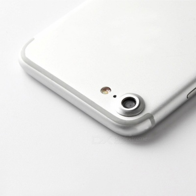 ENKAY Metal Camera Lens Cover for IPHONE 7 4.7 Inch - Silver