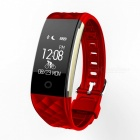 S2 Bluetooth Heart Rate Wristband for Android IOS Phone - Red