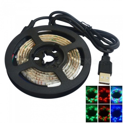 JIAWEN Waterproof 3528 SMD 60LEDs RGB Flexible LED Strip Light (1m)