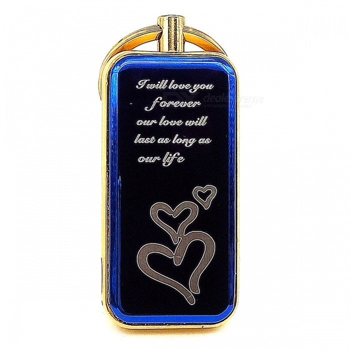 Rechargeable Electronic Lighter w/ Keychain