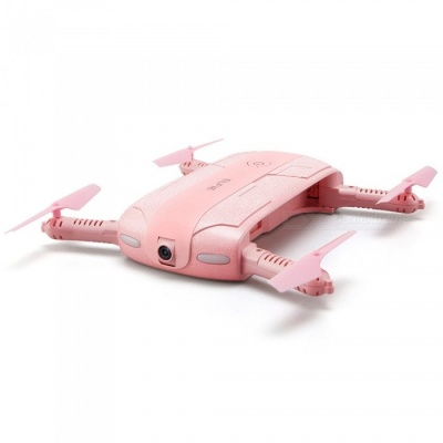 JJRC H37 ELFIE WIFI FPV 720P Mini Drone RC Quadcopter w/ Camera - Pink