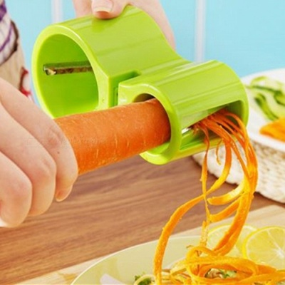 Mini Household Spiral Grater / Sharpener