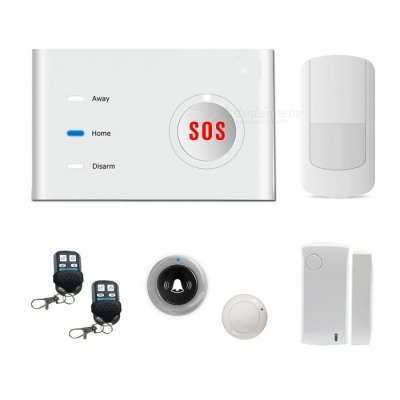 AG-security GSM Dual-Network Alarm System w/ Two-Way Communication