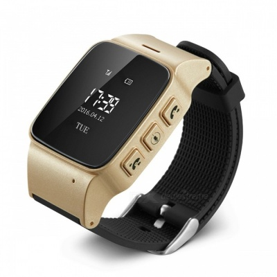 D99 GSM GPS Tracker Watch w/ Call Button, Google Map for the Elderly