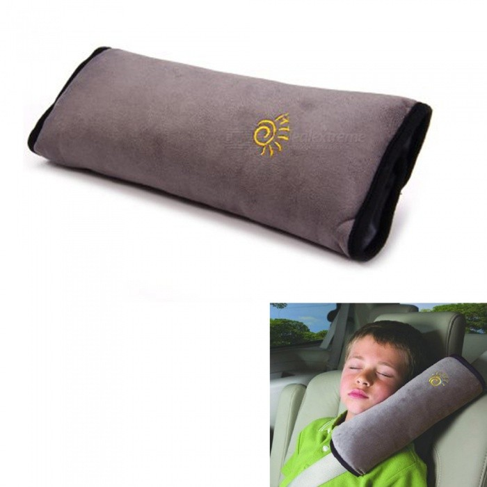 KICCY Car Safety Belt Shoulder Protection Cushion Pillow - Grey