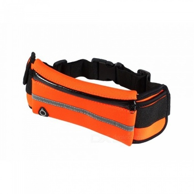KICCY Waterproof Outdoor Sports Running Mobile Phone Bag - Orange