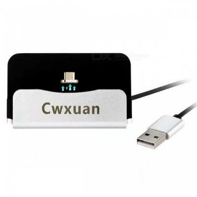Cwxuan Micro USB Detachable Magnetic Charger Dock for Android Phone