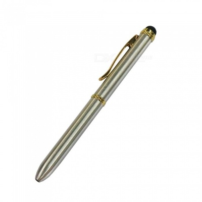 AT-13 Touch Screen Capacitive Pen for Mobile Phone - Silver + Golden