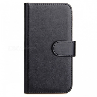 Dazzle Colour PC Leather + PU Flip Protective Case for UMI PLUS- Black