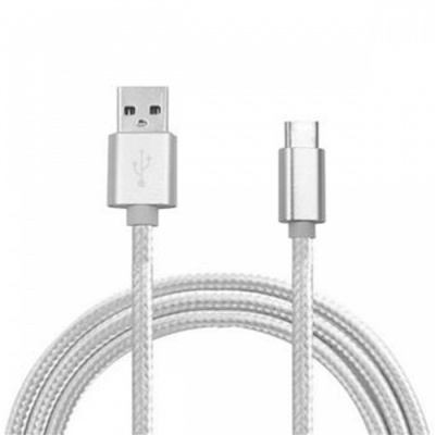 Type-C Charging Data Cable for Samsung Galaxy S8 / S8 Plus - Silver