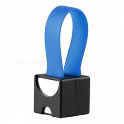 Mini Android Phone Charger for Emergency Use -Black + Blue