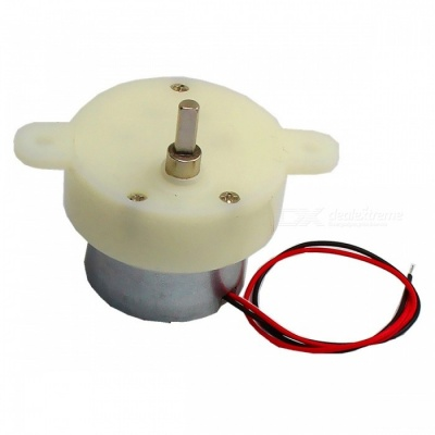 Type 30 DC Motor DC 6.0V 15RPM Low Noise D Shaft
