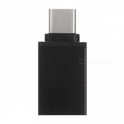 SZKINSTON USB3.0 Type-C Male to USB3.0 Female OTG Adapter Cable -Black