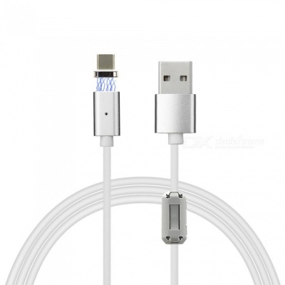 Cwxuan USB Type-C Detachable Magnetic Charging Data Cable (120cm)