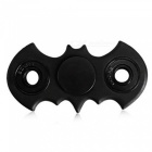 Maikou ABS Bat Shaped Finger Gyro Stress Relief Toy - Black