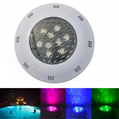 JIAWEN 9W IP68 Waterproof RGB LED Underwater Swimming Pool Light