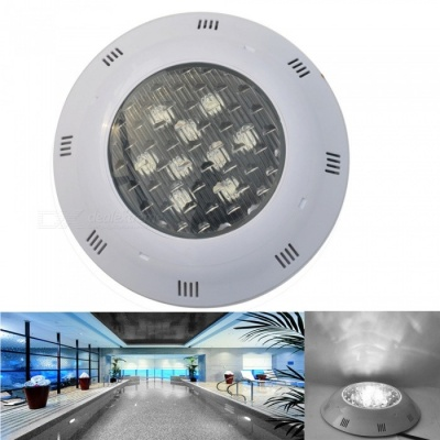 JIAWEN 9W IP68 Waterproof Cold White LED Underwater Pool Light