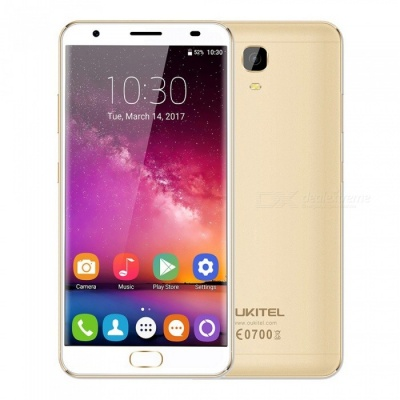 "OUKITEL K6000 Plus 5.5"" Octa-core 4G Phone w/ 4GB RAM 64GB ROM -Golden"