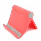 KICCY Universal Adjustable Lazy Mobile Phone Stand Holder - Red