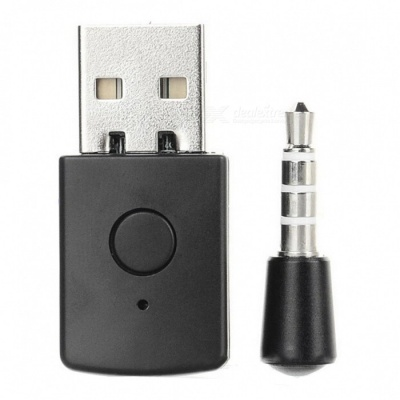 Kitbon USB 2.0 Bluetooth 4.0 Data Transmission Adapter Dongle for PS4