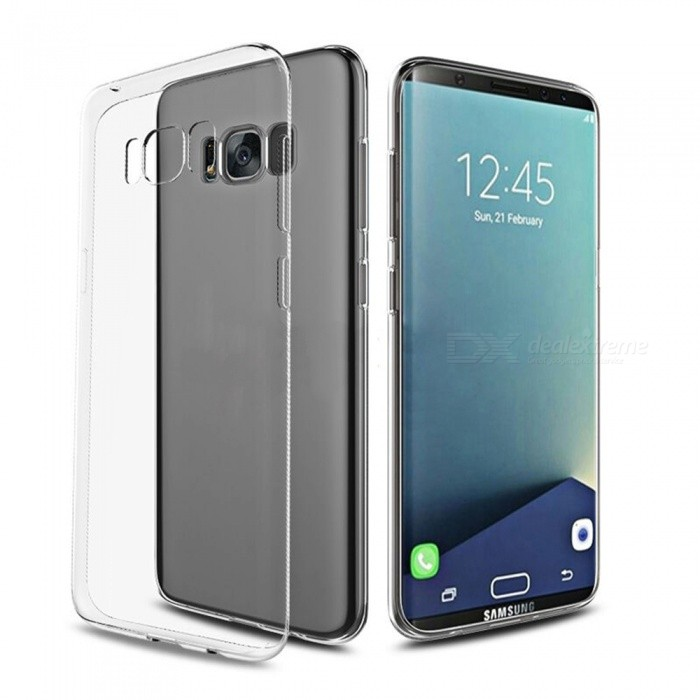 ASLING Ultra-thin Soft TPU Case for Samsung Galaxy S8 - Transparent