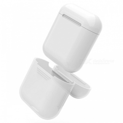 90SMART AirPods Protective Silicone Cover Skin for Apple Airpods