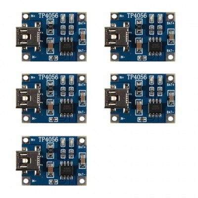 Hengjiaan 5PCS 5V Mini USB 1A Lithium Battery Charging Board