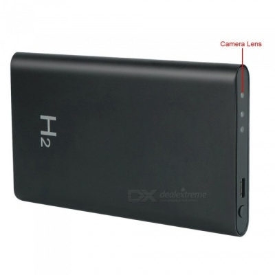 HD Camera Power Bank Portable Video Recorder DV Camcorder, 16GB Memory