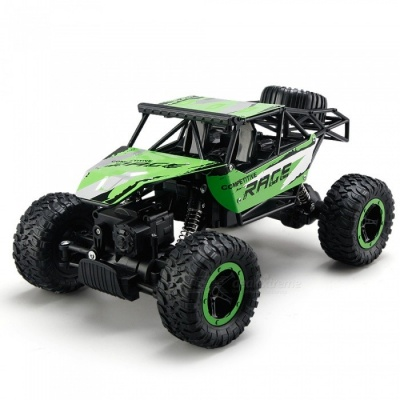Q15 1:14 All-Wheel-Drive Remote Control Climbing Car - Green