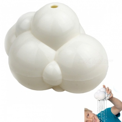 LED Rain Clouds Swimming Bathe Bathing Toys for Babies - White
