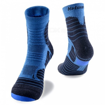 NatureHike Unisex Breathable Quick Dry Thicken Socks for Sports - Blue