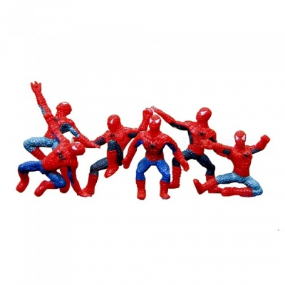 DIY Heroic Horticulture Multicolor Scenery Dolls - Red + Blue (6pcs)
