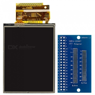 """OPEN-SMART 2.2""""  ST7775 TFT LCD Touch Screen Display w/ Adapter Module"""